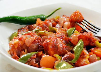 Dry Chilli Paneer - $14.49